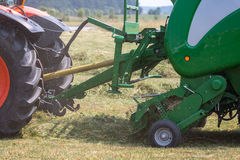 Round baler Stock Photos