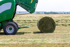 Round baler Royalty Free Stock Photos