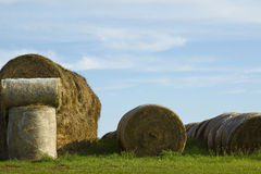 Round Bales Royalty Free Stock Photo