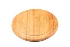 Round Bamboo Chopping Board Stock Photos