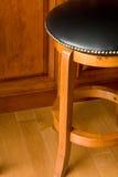 Round bar stool Stock Photo