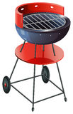 A round barbeque grill Royalty Free Stock Photos
