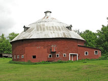 Round Barn Stock Photography