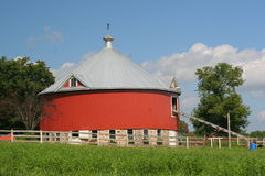 Round Barn Royalty Free Stock Photo