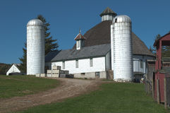 Round Barn Stock Image
