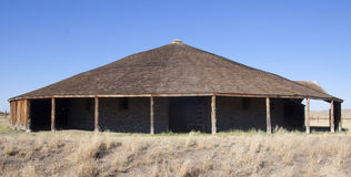 Round Barn Royalty Free Stock Images