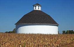 Round barn outside medora, indiana Royalty Free Stock Image