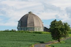 Round barn Royalty Free Stock Photos