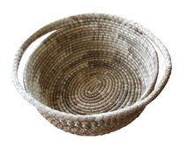 Round Basket Royalty Free Stock Photography