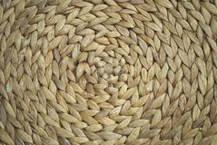 Round basketwork background Royalty Free Stock Photos