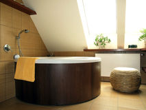 Round bath Stock Photos