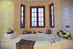 Round Bathtub Stock Images