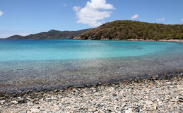 Round Bay in St John Stock Photography