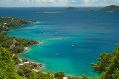 Round Bay - St John - USVI Stock Photo