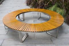Round bench. Royalty Free Stock Photos