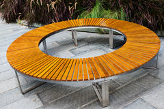 Round bench. Stock Images