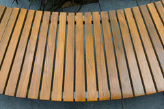 Round bench. Royalty Free Stock Photography