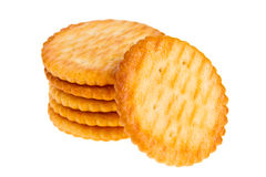 Round biscuit Royalty Free Stock Photos