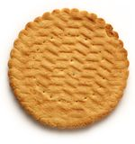 Round biscuit Royalty Free Stock Photography