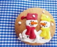 Winter grandma cookie. Royalty Free Stock Photo