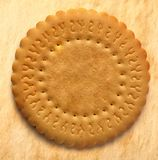 Round biscuit Stock Photography