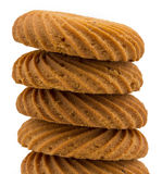 Round biscuits Stock Photography