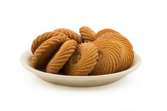 Round biscuits Royalty Free Stock Photos