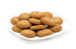 Round biscuits Stock Image