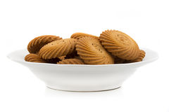 Round biscuits Royalty Free Stock Photography