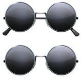 Round Black Glasses Royalty Free Stock Image