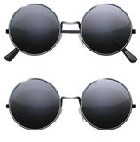 Round black glasses Royalty Free Stock Image