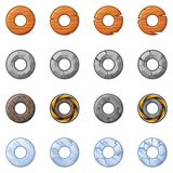 Round Blocks For Physics Game 2 Royalty Free Stock Image