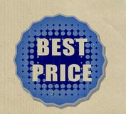 Sale recycled sticker Stock Photos
