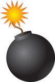 Round bomb Royalty Free Stock Photography