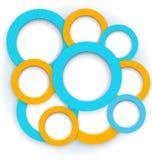 Round borders vector Stock Photo