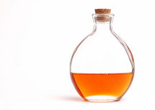 Round Bottle Of Oil Royalty Free Stock Image