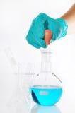 Round-bottom flask Stock Photo