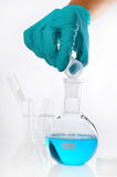 Round-bottom flask Royalty Free Stock Photography