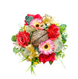 Round bouquet of beautiful artificial flower Royalty Free Stock Image