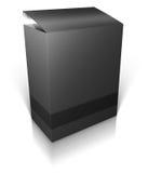 Round box. Software box Stock Image