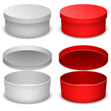 Round box template Royalty Free Stock Images