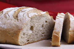 Round of bread. Rounds of bread with heel stock photography