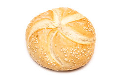 Round Bread Isolated Royalty Free Stock Photos
