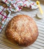 Round bread Stock Photography