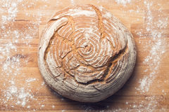Round bread Stock Photography