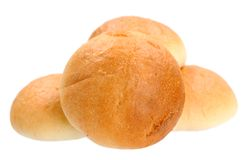 Round breads Royalty Free Stock Image
