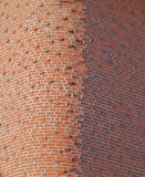 Round Brick Corner Stock Photos