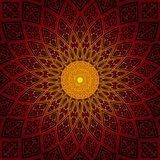 Round brillant wzór Zdjęcie Stock