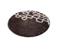 Round brown carpet Royalty Free Stock Photos