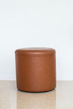 Round brown chair Royalty Free Stock Photos